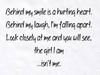 the girl I am isn't me.