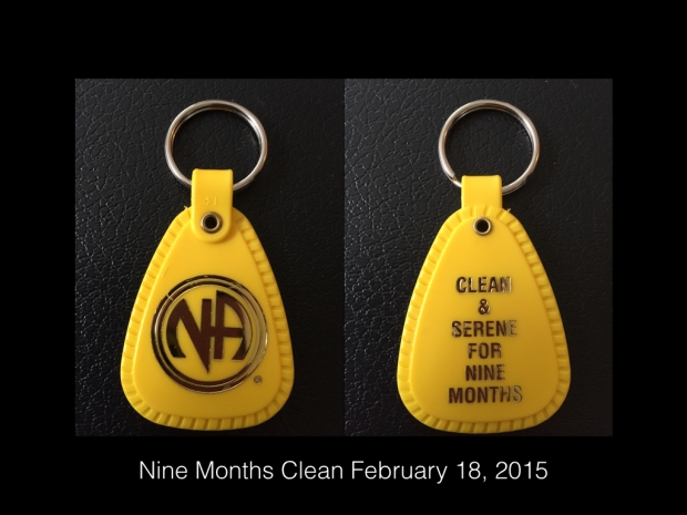 Nine Months Clean - February 18, 2015